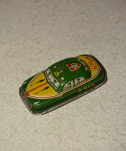 Madamvintage - groen gele auto