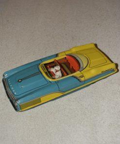 Madamvintage - blauw gele auto