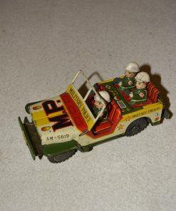 Madamvintage - militaire politieauto
