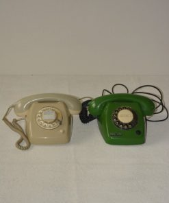 Madamvintage - telefoon grijs en groen