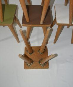 Madamvintage - houten krukjes