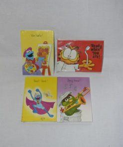 Madamvintage - garfield/sesamstraat kaarten