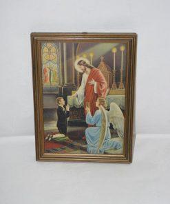 Madamvintage - schilderijtje communie