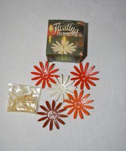 Madamvintage - drijvende bloemkaarsen