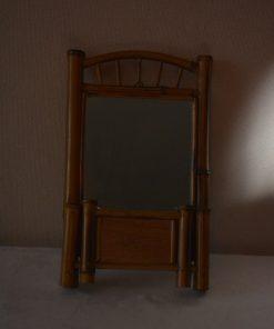 Madamvintage - rotan spiegel