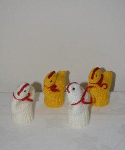 Madamvintage - eierwarmers gebreid