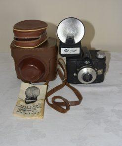 Madamvintage - camera zwart met flitser