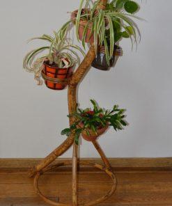 Madamvintage - rotan plantenstandaard