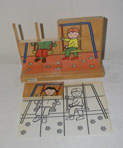 Madamvintage - puzzel met voorbeeld