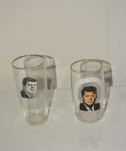 Madamvintage - glas John F Kennedy