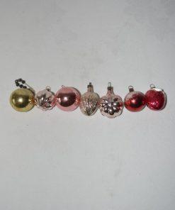 Madamvintage - kerstballen voor kleine boom