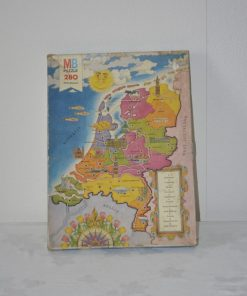 Madamvintage - puzzel provincies