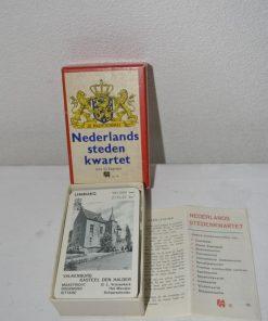 Madamvintage- kwartetspel Nederlandse steden