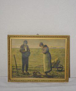 Madamvintage - schilderijtje bid en werk