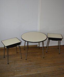 Madamvintage - Kindersetje tafel-tafeltjes/nachtkastje