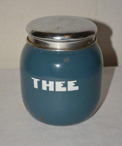 Madamvintage - Emaille voorraadbus thee