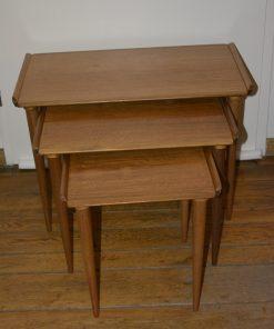 Madamvintage - Set van 3 nesttafels van Heltborg Mobler