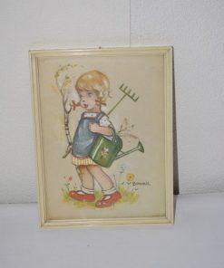 Madamvintage - schilderijtje bonnie