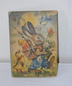 Madamvintage - Pop up boek tafereel pasen