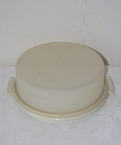 Madamvintage - taartschaal tupperware
