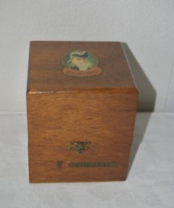 Madamvintage - Sigarenkistje Fabrikaat Edelachtbaar Sigarenfabriek