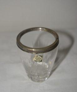 Madamvintage - Crystal vaasje met cocktailprikkers
