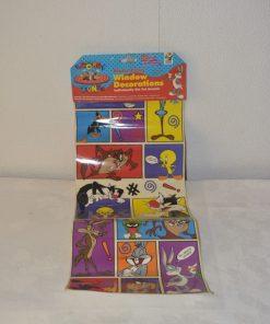 Madamvintage - Raamstickers Looney Tunes