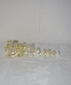 Madamvintage - glazen gewichtjes