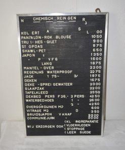 Madamvintage - letterbord met letters