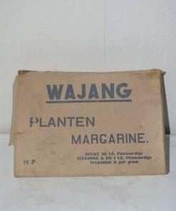 Madamvintage - Kartonnen doos Wajang planten margarine