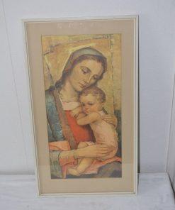 Madamvintage - Schilderij met afbeelding Maria
