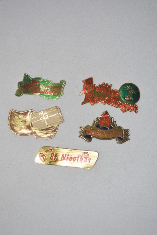 Madamvintage - Cadeau etiketten kerst/sinterklaas