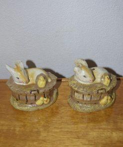 Madamvintage - Konijn/kuiken kaars