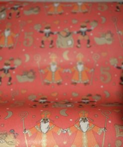 Madamvintage - Cadeaupapier Sinterklaas