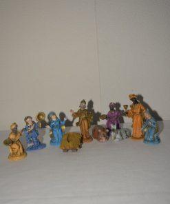Madamvintage - beeldjes kersstal