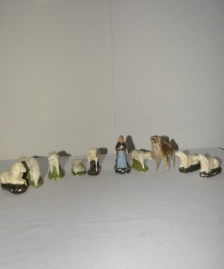 Madamvintage - beeldjes kerststal