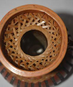 Madamvintage - Aziatische rotan/bamboe vaas