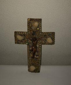 Madamvintage - kruisbeeld schelpen