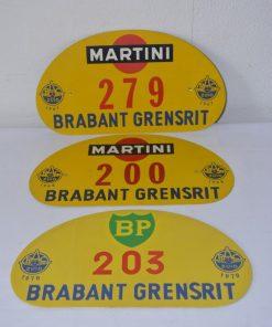 Madamvintage - Metalen plaatjes grensrit Brabant