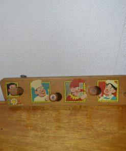 Madamvintage - Houten kinderkapstok