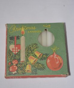 Madamvintage - doosje kerstboomkaarsjes