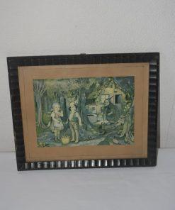 Madamvintage - schilderijtje hans en grietje