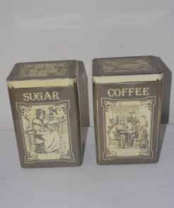 Madamvintage - Voorraadbussen coffee/sugar