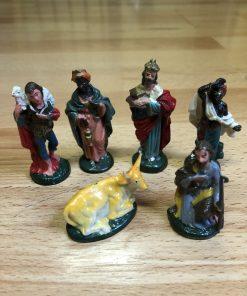 Madamvintage -beeldjes kerststal