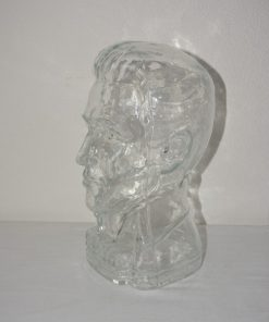 Madamvintage - glazen hoofd elvis