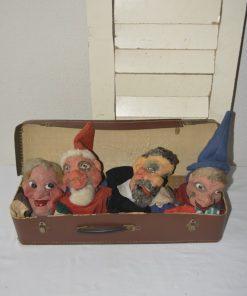 Madamvintage - Koffertje met handpoppen