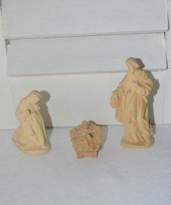 Madamvintage - houten kerstgroepje