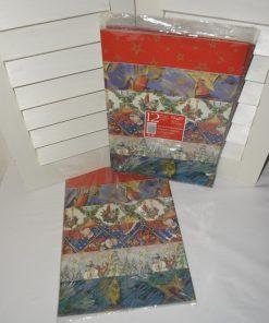Madamvintage - kerst inpakpapier