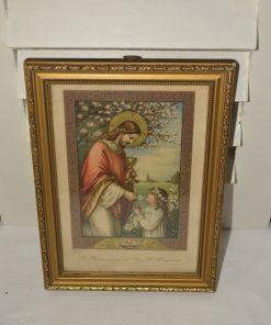 Madamvintage - Schilderijtje heilige communie