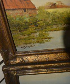 Madamvintage - schilderij kaashoek